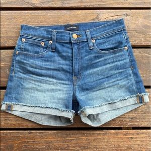 Jcrew Jean denim shorts